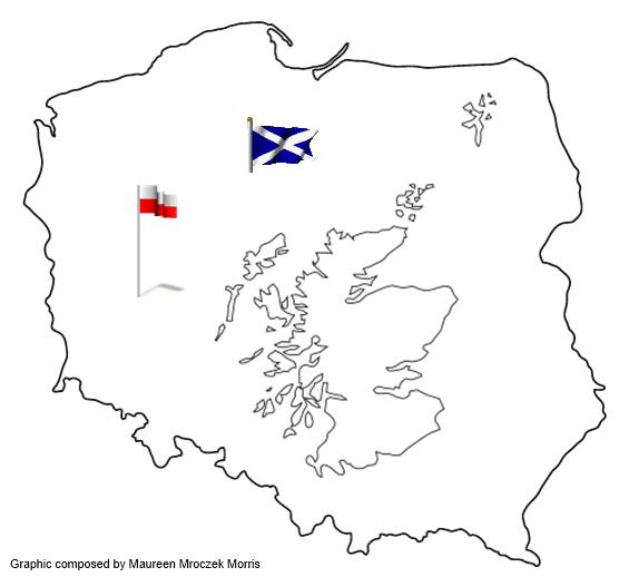 scotlandpolandmap