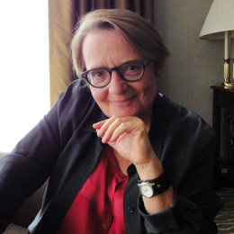 Agnieszka Holland talks to Eva Stachniak at the Toronto International Film Festival