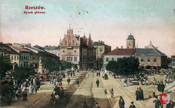 Rzeszow, ca 1900. Courtesy Kresy-Siberia Virtual Museum. Tomasz Wisniewski collection.