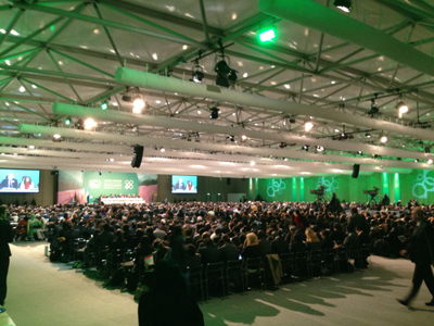 Opening of the COP19 Climate Summit in Warsaw