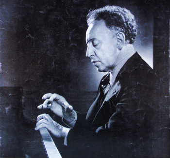 Artur Rubinstein on the cover of WISDOM magazine, March 1957; portrait photo by Karsh of Ottawa