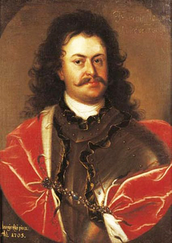 Ferenc Rákóczi (1676-1735) fled to Poland after his failed uprising against the Austrians. He was later nominated for the kingship of Poland.