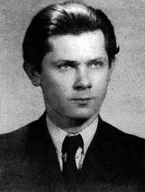 A young Zbigniew Herbert