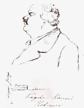 Sketch by Henryk Sienkiewicz