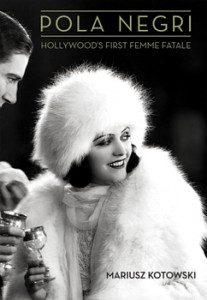 "Book Cover: Pola Negri in ""The Woman from Moscow,"" Paramount, 1928."