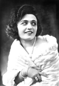 A 1916 Pola Negri publicity picture from Warsaw.  Courtesy of the Mariusz Kotowski.