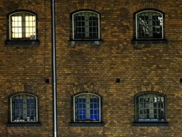 The windows of  Alt-Moabit prison  PHOTO: Daniel Reinhardt