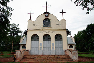 The Masindi church in 2006. Photo courtesy of John Goddard.