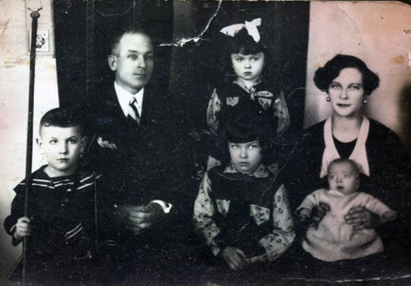 The Babinski family before World War II