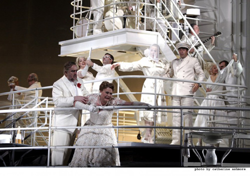 """The Passenger"" at Chicago's Lyric Opera PHOTO: Catherine Ashmore"