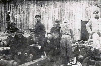 Life in the gulag. PHOTO courtesy of Eugenia Smolnicka.