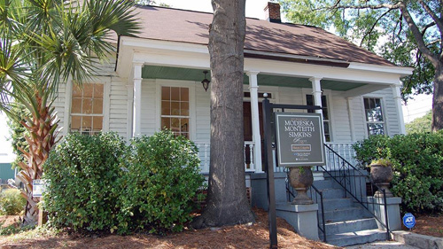 Modjeska Monteith Smith's house in South Caroline; it will soon open for tours. PHOTO via Historic Columbia