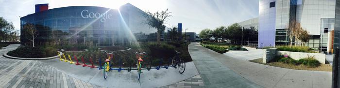 Google HQ in Mountain View PHOTO: Dariusz Wodziak