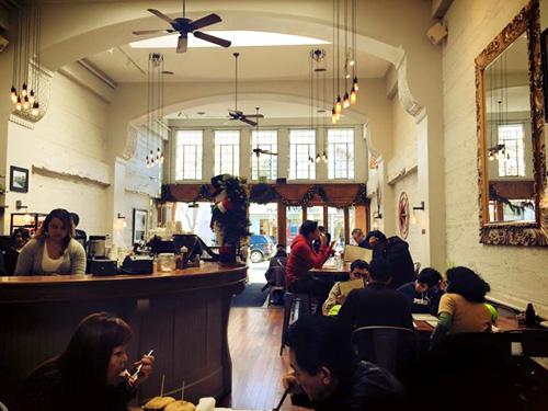 Palo Alto university cafe PHOTO: Sylwia Gorajek, www.jaion.pl