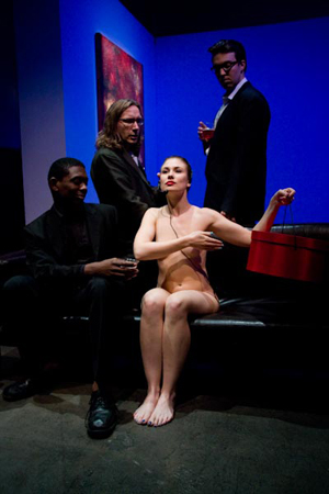 """Filthy Talk for Troubled Times"" by Neil LaBute; 2012 City Garage production"