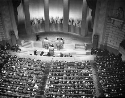 UN Charter Conference in San Francisco; June 26, 1945