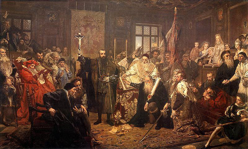 Union of Lublin; Jan Matejko painting