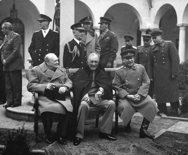 Yalta. The Big 3.
