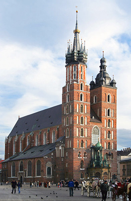 PHOTO of St. Mary's Church in Kraków by Pgkos