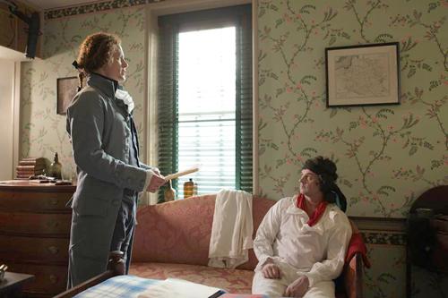 FILM still: Thomas Jefferson with Tadeusz Kościuszko