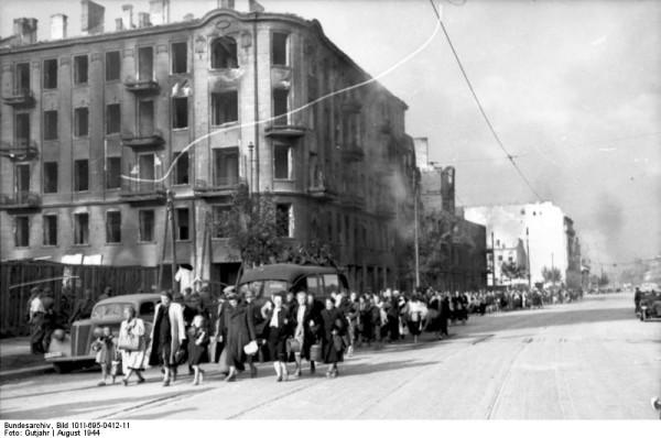 Warschauer Aufstand, Zivilisten