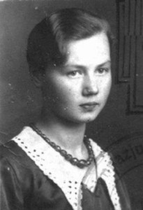 Jadwiga Deneko, courier for the Children's Section of Żegota. Arrested in November 1943 while sheltering 13 Jewish children in Warsaw, executed by firing squad in Warsaw on January 8, 1944 in the Pawiak Prison