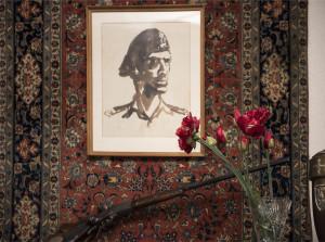 Anders portrait in Sikorski Museum, London