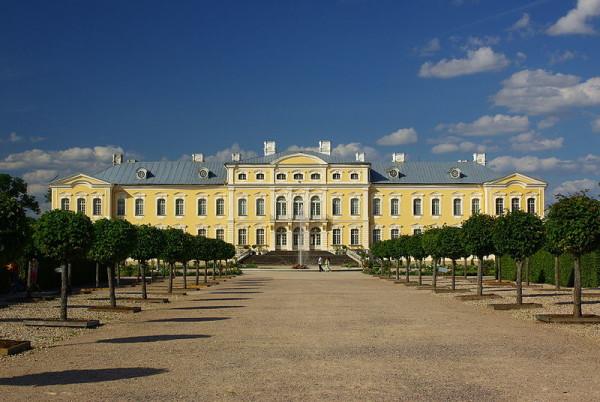 Palace in Rundāle