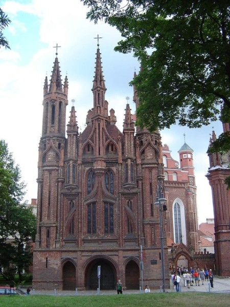 St. Ann's Church in Vilnius