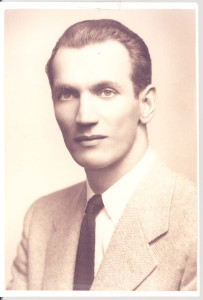 Young Karski at the start of his diplomatic career