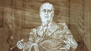Artist's image of Roosevelt