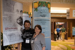 Basia & Leonard at NASC conference
