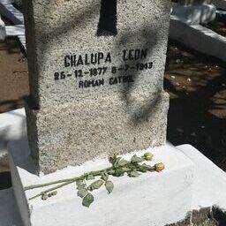 Amanda's family grave