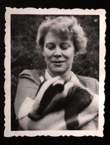 Antonina Zabinska, 1940s